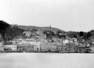 Nedre bydel ca 1880